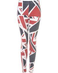 Topshop Union Jack Print Leggings - Lyst