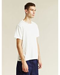 Unused - Distressed T-shirt - Lyst