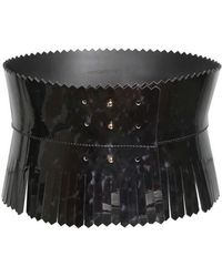 Viktor & Rolf - High Waisted Patent Leather Belt - Lyst