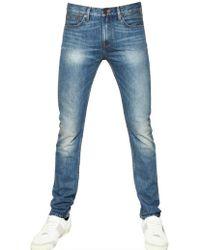 Burberry Brit | Skinny Fit Washed Denim Jeans | Lyst