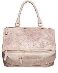 Givenchy - Large Pandora Washed Leather Bag - Lyst