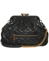 Marc Jacobs Little Stam Quilted Leather Shoulder Bag - Lyst