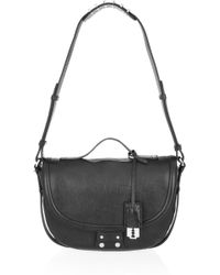 McQ by Alexander McQueen Clerkenwell Leather Shoulder Bag - Lyst