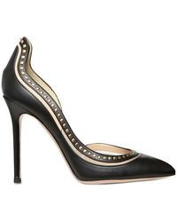 Valentino 100mm Calf Microstuds Pointy Pumps - Lyst