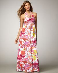 Trina Turk Caprice Paisleyprint Maxi Dress - Lyst