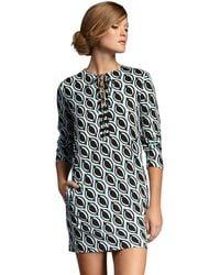 Diane von Furstenberg Nana Petalprint Dress - Lyst