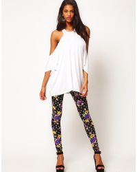 ASOS Collection Asos Legging in Floral Spot Print - Lyst