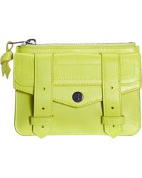 Proenza Schouler Ps1 Small Zip Case yellow - Lyst