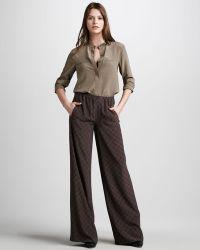 Vince Printed Pajama Pants - Lyst