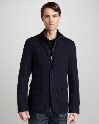 Burberry Brit Quilt-liner Sport Coat - Lyst