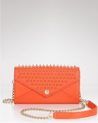 Rebecca Minkoff Wallet On A Chain with Studs - Lyst