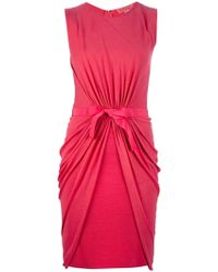 Giambattista Valli Belted Dress - Lyst