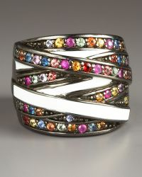 M.c.l  Matthew Campbell Laurenza - Wrapped Pave Ring - Lyst