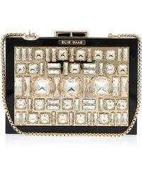 Elie Saab Box Crystal Clutch Bag - Lyst