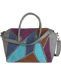 ModCloth - Patchwork Of Art Bag - Lyst