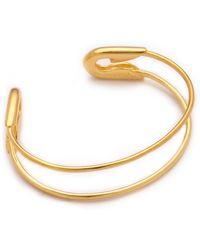 Tom Binns - Safety Binns Safety Pin Cuff - Lyst