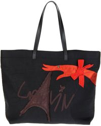 Lanvin Large Fabric Bag - Lyst