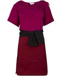 Sonia by Sonia Rykiel Combo Dress - Lyst