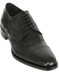 DSquared² 25cm Brogue Style Leather Laceup Shoes - Lyst