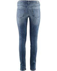 H&M Skinny Low Jeans - Lyst