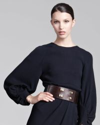 Lela Rose | Wide Turnlock Belt | Lyst