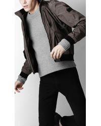 Burberry Sport Packaway Meshlined Blouson - Gray