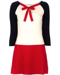 Moschino Cheap & Chic Wool Dress - Lyst