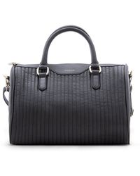 Mango Quilted Bowling Bag - Lyst