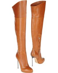 Casadei High Heeled Boots - Lyst