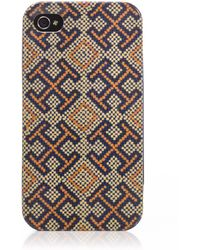 Tory Burch Printed Hardshell Phone Case - Lyst