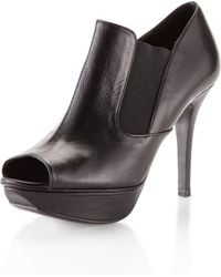 Vera Wang Lavender - Nick Opentoe Ankle Bootie - Lyst