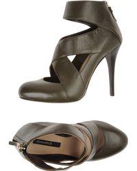Alessandro B Platform Sandals - Lyst