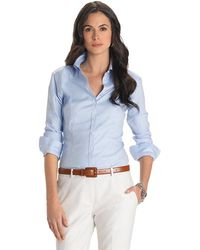 Brooks Brothers Petite Non-Iron Fitted Stretch Shirt - Lyst