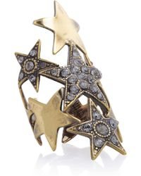 Emilio Pucci - Crystal embellished Star Ring - Lyst
