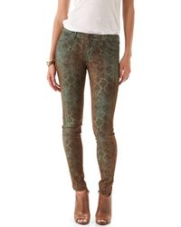 Rich & Skinny Legacy Snake Print Jeans - Lyst
