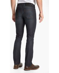 John Varvatos Bowery Brewester Straight Leg Jeans - Lyst