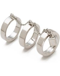Marc By Marc Jacobs - Triple Threat Ring - Lyst