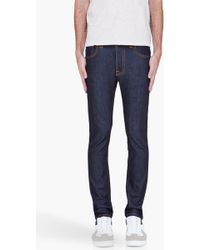 Nudie Jeans Indigo Tape Ted Jeans - Lyst