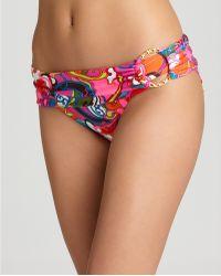 Ash - Trina Turk Swimwear Fiji Flower Sash Hipster - Lyst