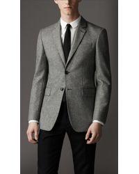 Burberry Modern Fit Wool Jacket - Lyst