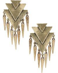 Topshop Arrows and Spike Earrings - Lyst