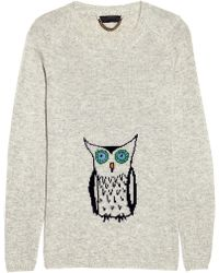 Burberry Prorsum - Owl Cashmere Jumper - Lyst