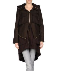Givenchy Midlength Jacket - Lyst