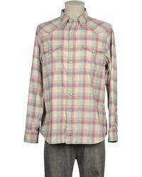 RRL - Long Sleeve Shirt - Lyst