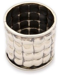 Anndra Neen - Quilted Bangle - Lyst