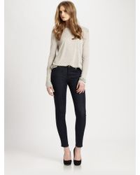 7 For All Mankind Slim Illusion Skinny Jeans - Lyst