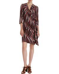 C&T Costello Tagliapietra - Print Wrap Dress - Lyst