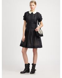 Marc By Marc Jacobs Anastasia Silk Organza Dress - Lyst
