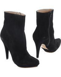 Pura Lopez Ankle Boots - Lyst