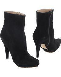 Pura Lopez Ankle Boots - Lyst